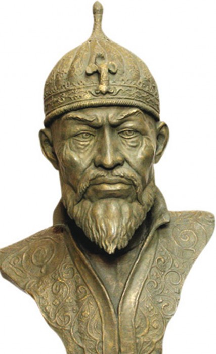 Bust of Timur.