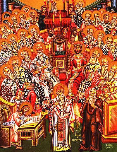 Council of Nicaea.