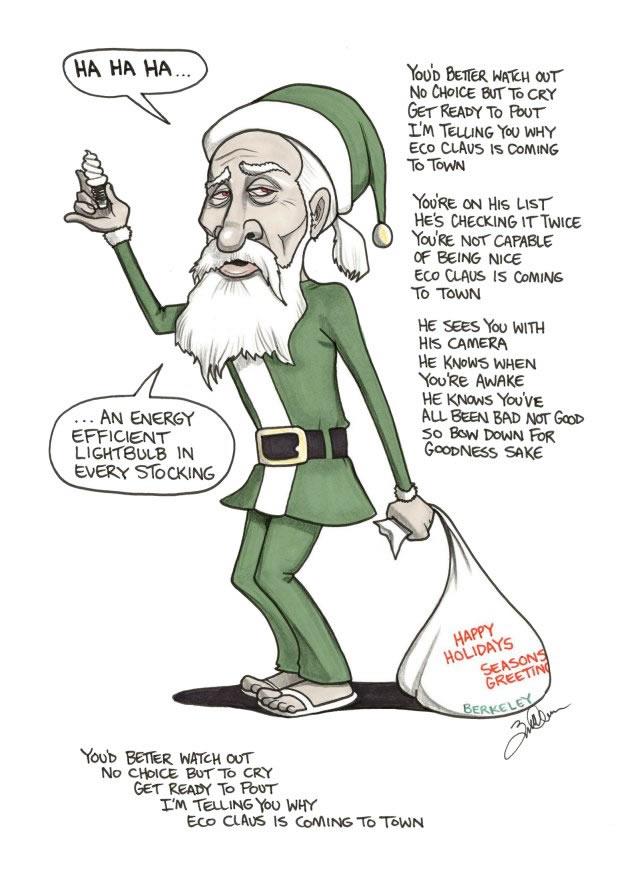 politically incorrect Santa