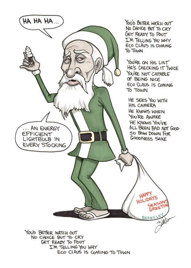 politically incorrect Santa 