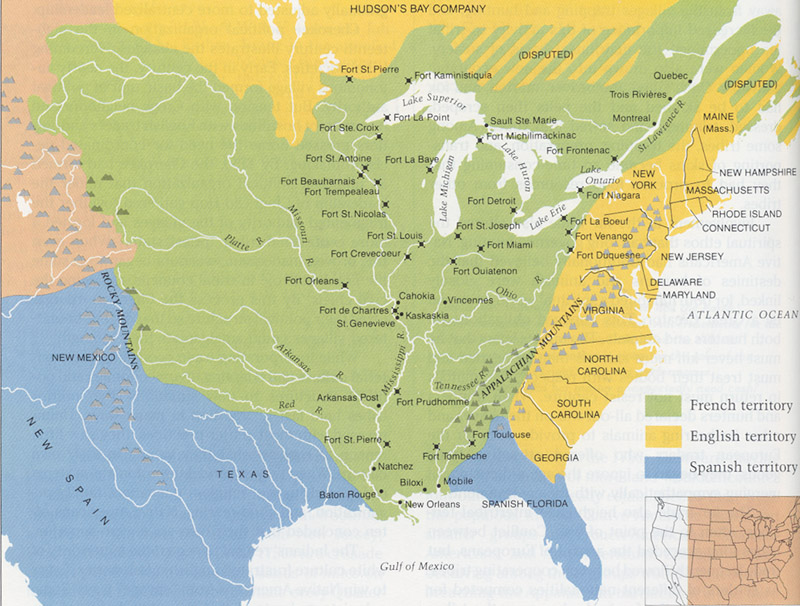 Colonial america part 2 north america 1750 gumiabroncs Images
