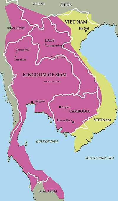 Episode 27: A New Siam History Of Southeast Asia podcast on kingdom of germany map, kingdom of axum, kingdom of nubia, kingdom of egypt map, kingdom of songhai, kingdom of cyprus map, kingdom of poland map, kingdom of norway map, kingdom of kerma, kingdom of bhutan map, kingdom of burgundy map, kingdom of russia map, kingdom of rome map, kingdom of jordan map, reunited kingdom of map, kingdom of bahrain map, kingdom of ethiopia map, kingdom of armenia, kingdom of dahomey, kingdom of morocco,