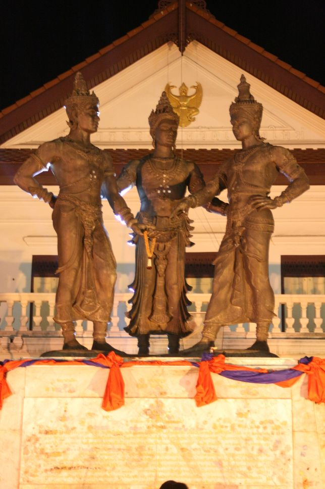Chiangmai monument.