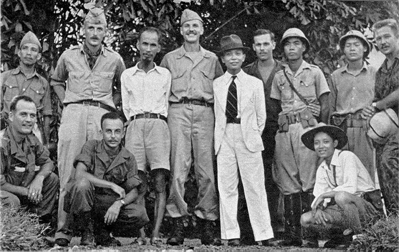 OSS team with the Viet Minh.