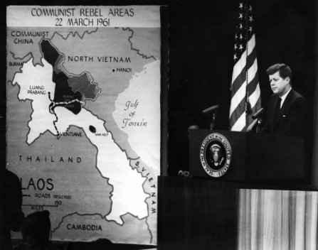 JFK press conference.