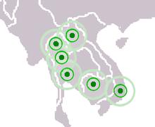 Mandalas in SE Asia, around 1360