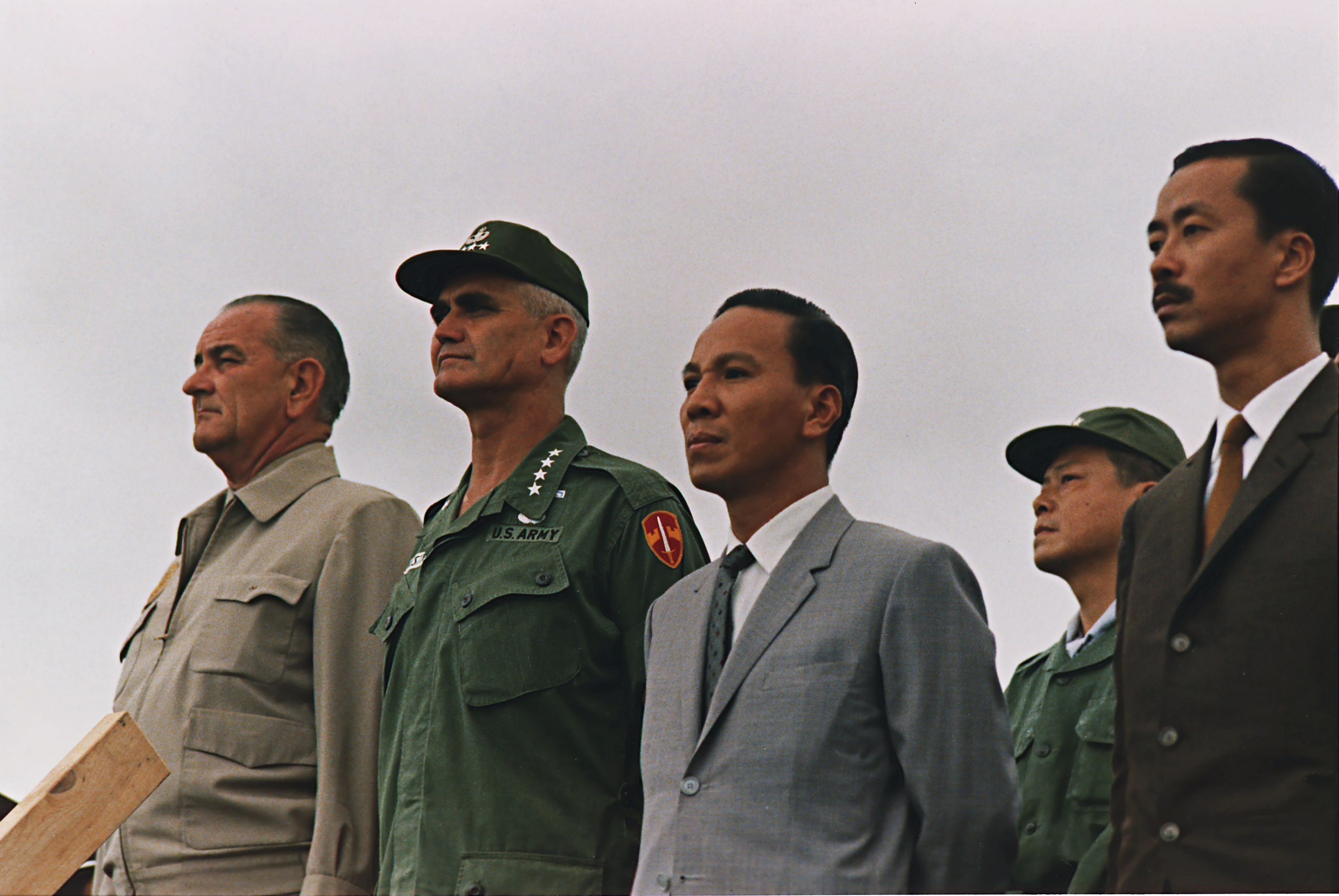 US and South Vietnamese leaders.