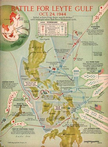Battle of Leyte Gulf.